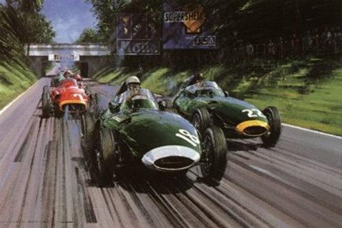 British Racing Green - Italian G.P. 1957