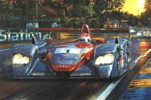 Audi at Le Mans - 2002