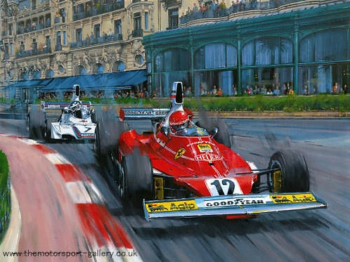 Niki Lauda - World Champion - Monaco GP 1975