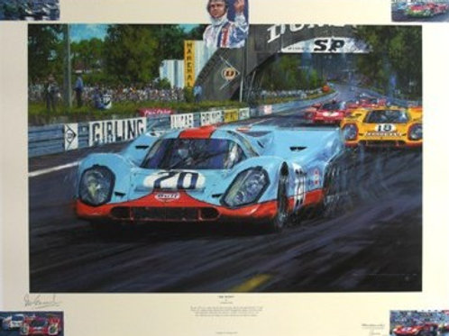 Tribute to the film - Le Mans