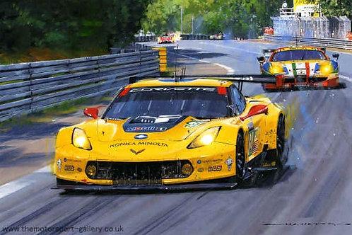 Corvette Thunder - Le Mans 2015