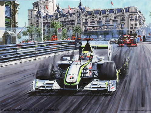 Jenson Button - Monaco G.P. 2009