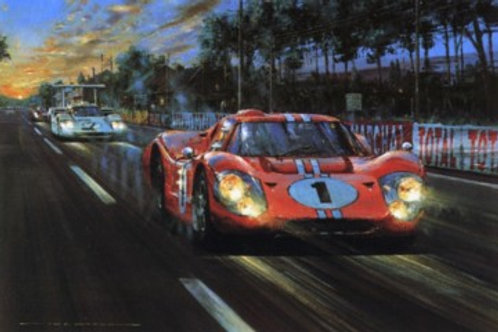 All American Victory - Le Mans 1967