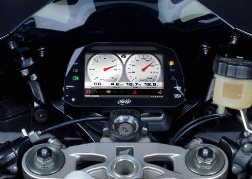 AIM Strada on Motorcycle.JPG