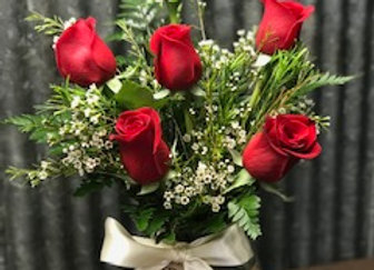 1/2 Dozen Long Stemmed roses