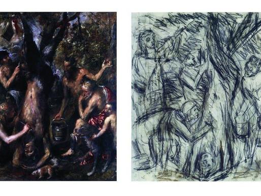 אמנים לומדים מאמנים, ליאון קוסוף בעקבות טיציאן
