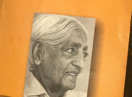 Desikachar sobre Krishnamurti y Yoga