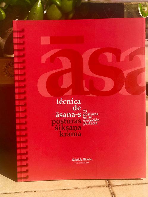 Técnica de Asanas. 73 posturas siksana.