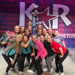 And top intermediate studio too! What a day! Congrats on an awesome day, BDC! 😍 #thebeatdanceco #il