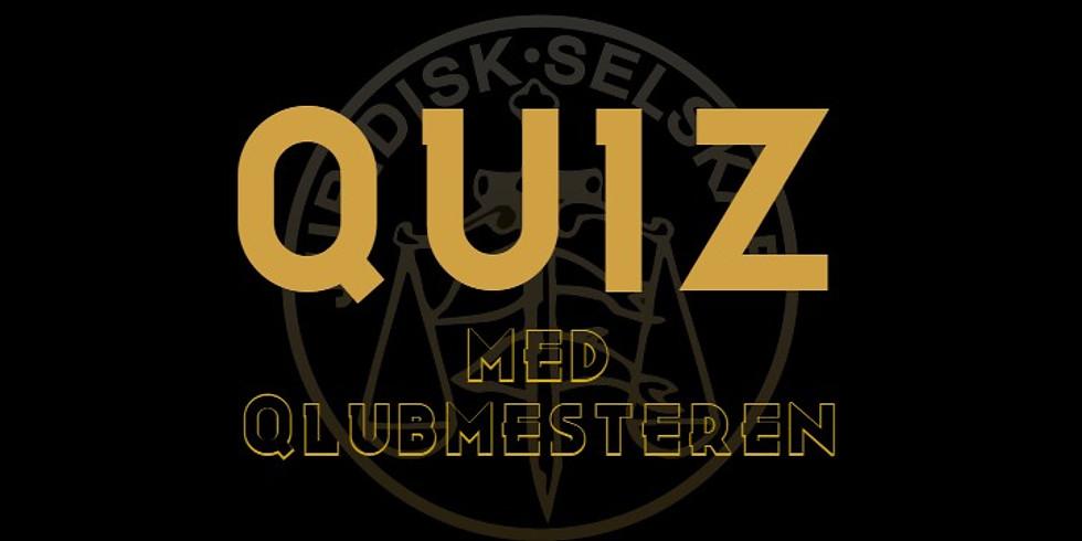 Quiz med Qlubmesteren!