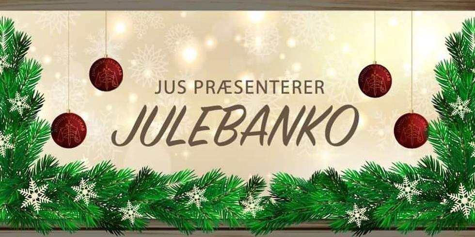JUS Præsenterer: Online Julebanko