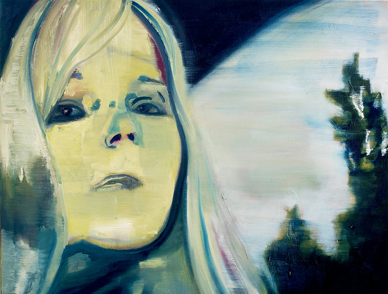 Chelsea manning oil painting