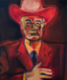 Dick Cheney oil painting