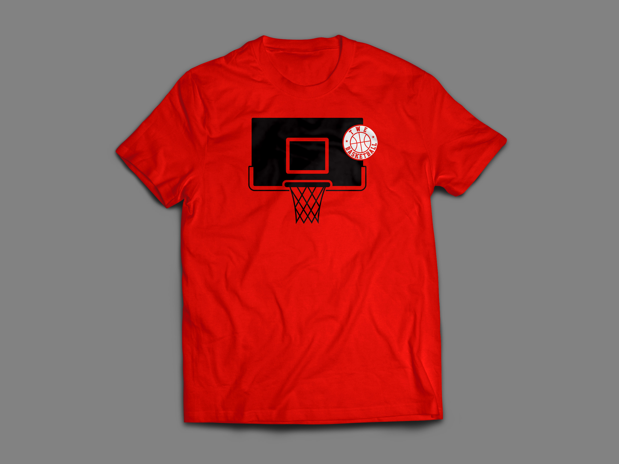 BACKBOARD SPLASH RED