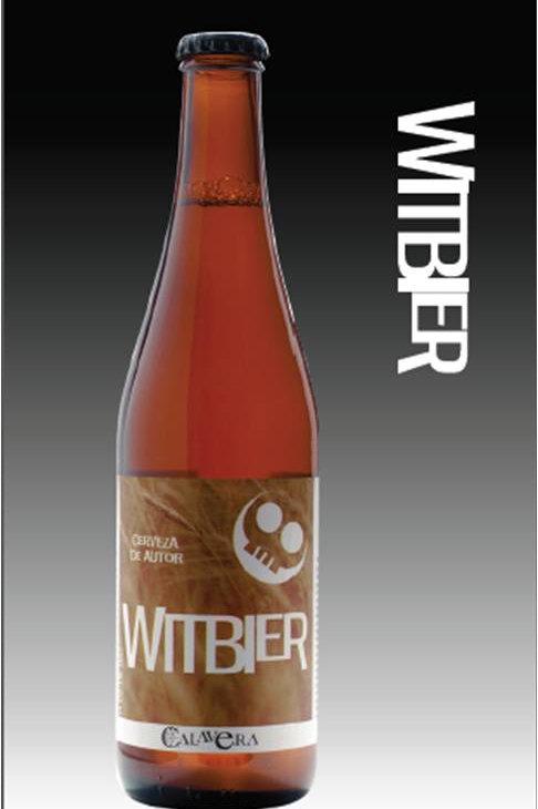 Cerveza Calavera Witbier. Caja con 24 Botellas de 355ml