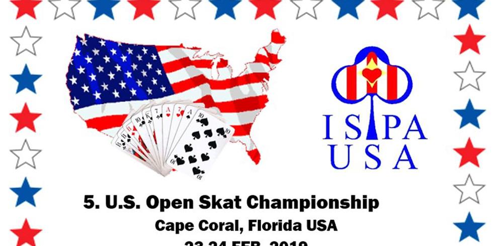 5. U.S. Open Skat Championship, Cape Coral, Florida USA