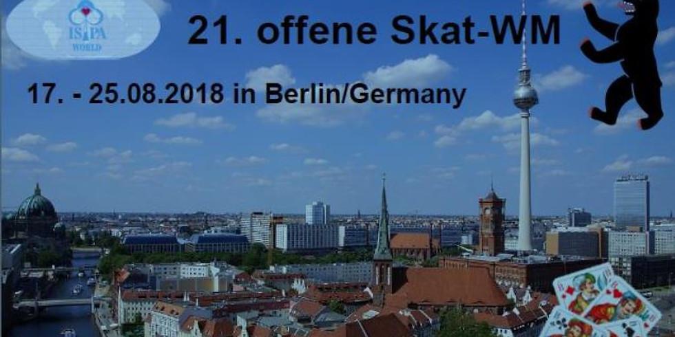 21. Open Skat World Championship Berlin, Germany