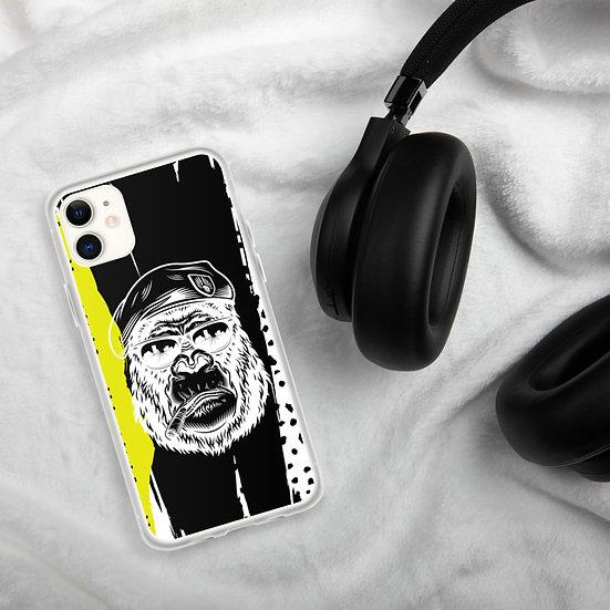 Gorilla by Funky Lemon iPhone Case