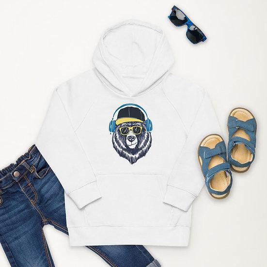 Bear by Funky Lemon Kids eco hoodie