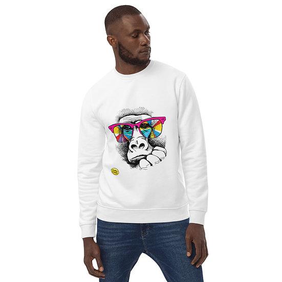 Cool as Ape by Funky Lemon Unisex eco sweatshirt