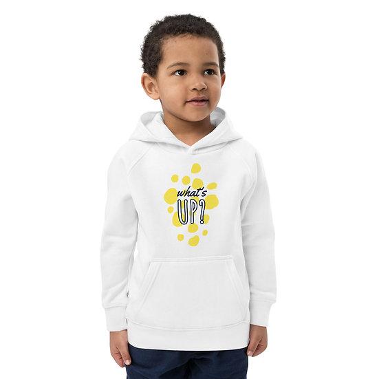 What's up? Kids eco hoodie