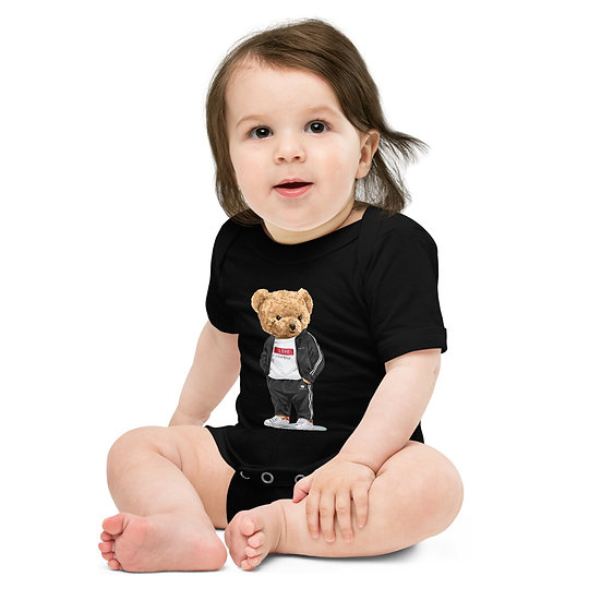 Teddy Bear by Funky lemon Baby short sleeve one piece