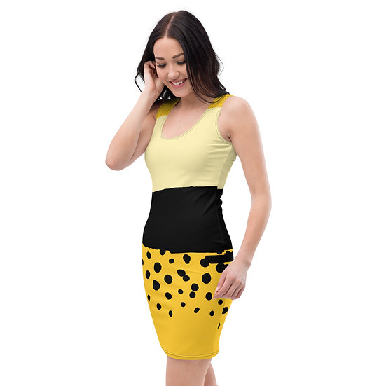 Jungle Fever by Funky Lemon Sublimation Cut & Sew Dress