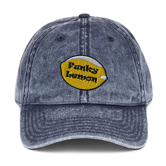 Funky Lemon Vintage Cotton Twill Cap