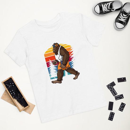 Big foot Organic cotton kids t-shirt