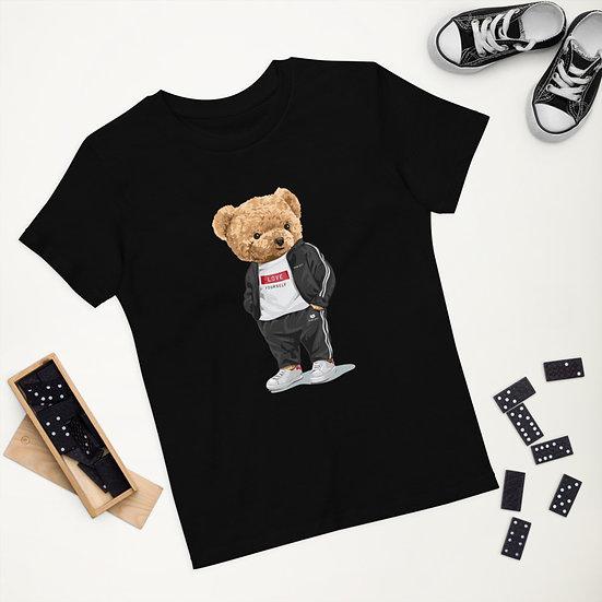 Teddy Bear by Funky Lemon Organic cotton kids t-shirt
