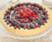 crostata chantilly e frutti di bosco