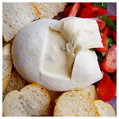 burrata al gorgonzola