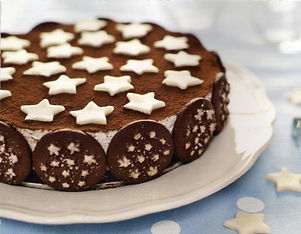 torta con i pandistelle