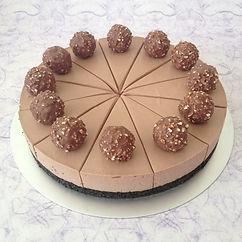 Cheesecake rocher