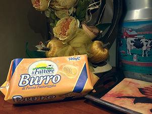 Burro pastorizzato in panetti