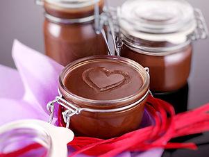 crema spalmabile di burro al cioccolato