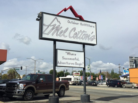 Developer Files To Redevelop Old Mel Cotton's Site