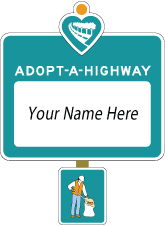 Report on the Adopt-A-Highway Litter Roundup on Highway 280 - a Tale of AYSO Paperwork and Baseball