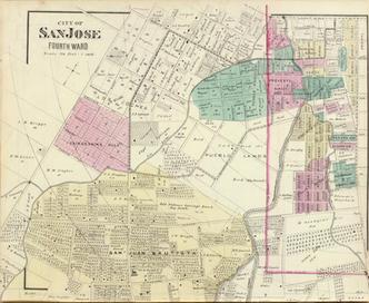 1876 4th Ward Map