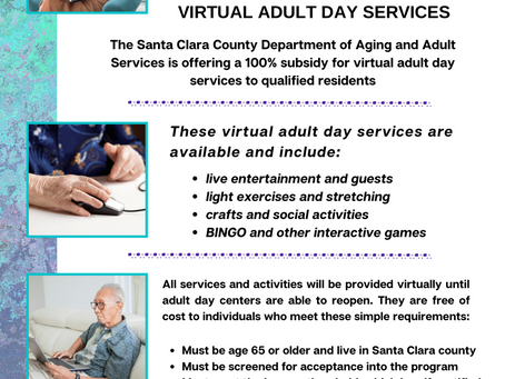 Free virtual adult day services