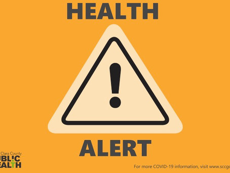 SCC Public Health Department: Health Alert