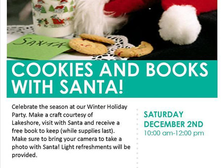 Cookies and Books With Santa