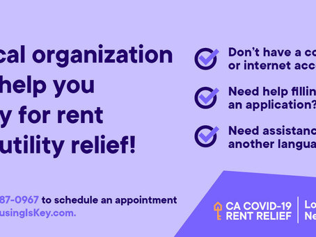 Finacial Assistance for Rent Available for Renters!