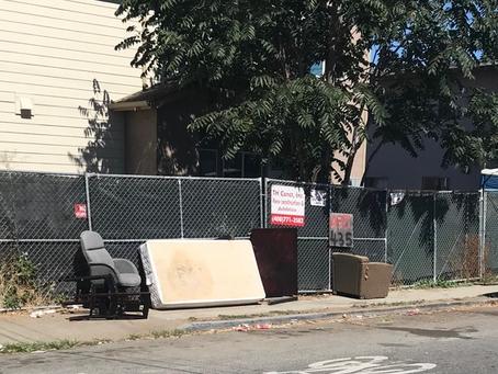 Illegal Trash Dumping Spikes in San Jose