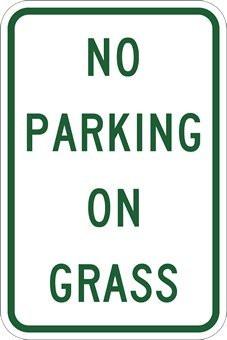 Lawn Parking Ordinance