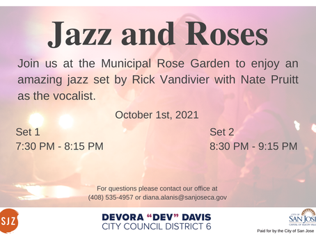 Jazz and Roses is back!
