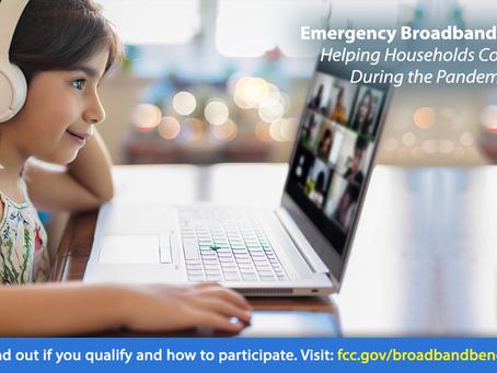 Affordable Internet via Emergency Broadband Benefit Program