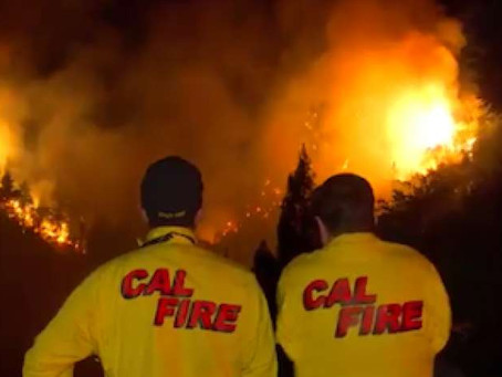 """""""Bear Fire"""" Breaks Out Just South of San Jose"""