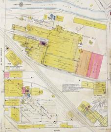 1912 Sanborn Fire Insurance Map San Jose Fruit Packing
