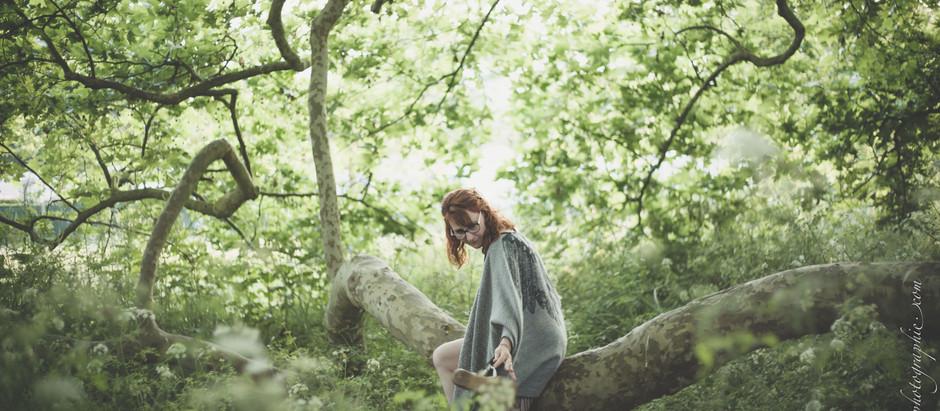 Laurence, connectée à elle-même et à la nature...